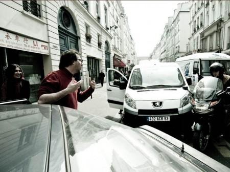 Julien en pleine engueulade typiquement parisienne